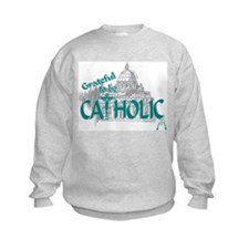 Grateful to be Catholic Sweatshirt