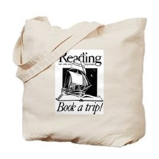Cool Read night Tote Bag