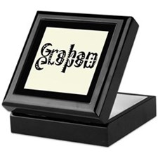 Graham Bookplate Storage Box