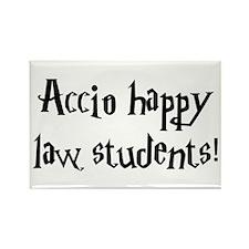 Accio happy law students! Rectangle Magnet