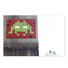 Alien in the City Postcard