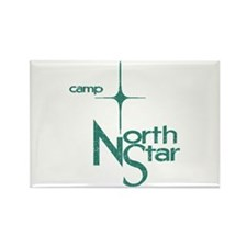 Camp North Star Rectangle Magnet (10 pack)