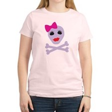 Cool Girly skull T-Shirt