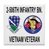 2-506th Infantry Vietnam Tile Coaster 2