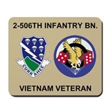 2-506th Infantry Vietnam Mousepad 2