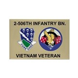 2-506th Infantry Vietnam Magnet 2