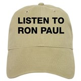 Listen to Ron Paul Baseball Cap