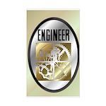 Engineers Rectangle Sticker