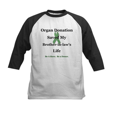 Brother-in-law Transplant Kids Baseball Jersey