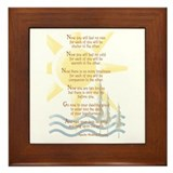 Apache Wedding Blessing Framed Tile