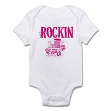 Rockin -Its what I do Baby Onesie