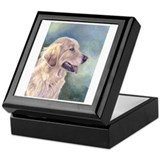 Lovely Golden Retrievers Keepsake Box