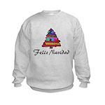 Guatemalan Christmas Kids Sweatshirt