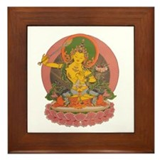 Manjushri Framed Tile