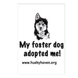 My foster dog adopted me Postcards (Package of 8)