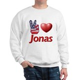 Peace, Love, Jonas Sweatshirt