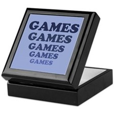 Games Keepsake Box