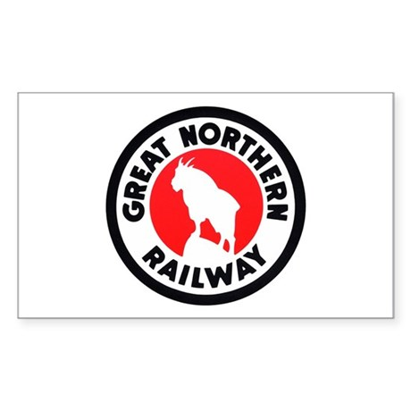 Great Northern Rectangle Sticker