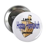 I am a Happy Hannukah person! Button