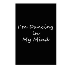 Im Dancing in My Mind Postcards (Package of 8)
