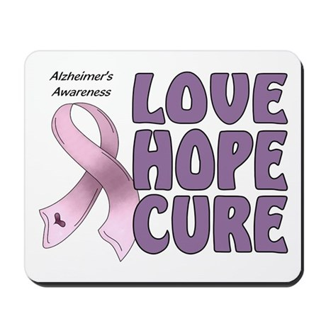 Alzheimer's Awareness Mousepad