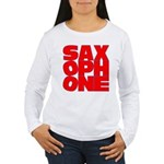 SAXOPHONE Women's Long Sleeve T-Shirt