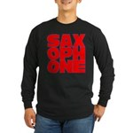 SAXOPHONE Long Sleeve Dark T-Shirt