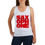 SAXOPHONE Women's Tank Top