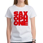 SAXOPHONE Women's T-Shirt