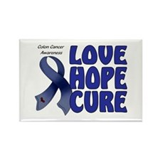 Colon Cancer Rectangle Magnet