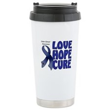 Colon Cancer Ceramic Travel Mug