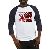 Heart Disease Awareness Baseball Jersey