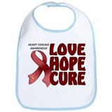 Heart Disease Awareness Bib