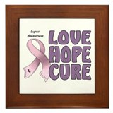 Lupus Awareness Framed Tile