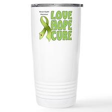 Mental Health Awareness Ceramic Travel Mug