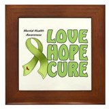 Mental Health Awareness Framed Tile