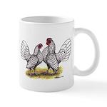 Silver Sebright Bantams Mug