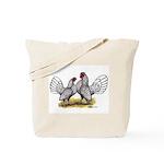 Silver Sebright Bantams Tote Bag