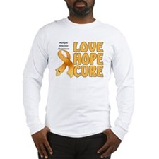 Multiple Sclerosis Awareness Long Sleeve T-Shirt