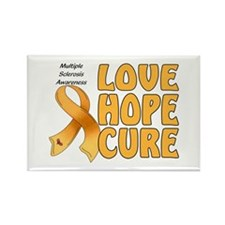 Multiple Sclerosis Awareness Rectangle Magnet (10
