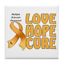 Multiple Sclerosis Awareness Tile Coaster