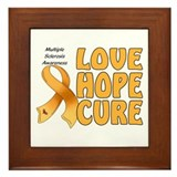 Multiple Sclerosis Awareness Framed Tile