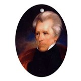 Andrew Jackson Christmas Ornament