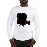 vintage video Long Sleeve T-Shirt