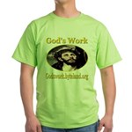 God's Work Green T-Shirt