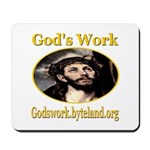 God's Work Mousepad