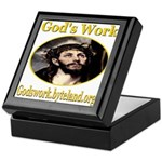 God's Work Keepsake Box