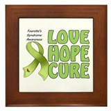 Tourette's Awareness Framed Tile