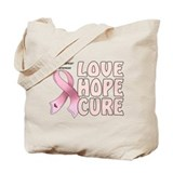 Breast Cancer Awareness Tote Bag