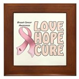 Breast Cancer Awareness Framed Tile